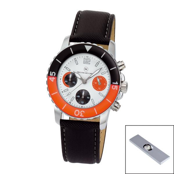 Chronograph ´Spectra Chrono Damen weiß/orange´