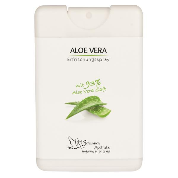 Aloe Vera Erfrischungsspray in 16 ml Spray Card