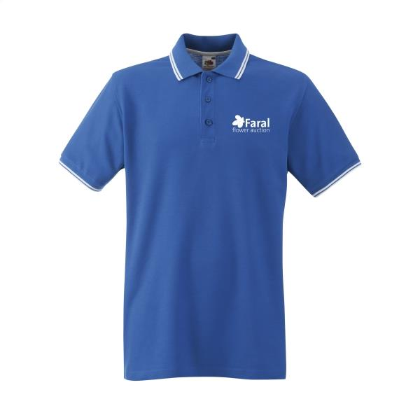 Fruit Premium Tipped Polo Herren Polohemd